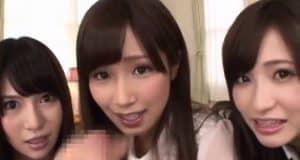 Aoi Minami พาเพื่อนหน้าหมวยมาโม๊คควยอย่างเสียว